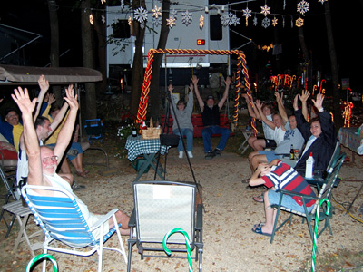 Camping Christmas In July Ideas.Western Village Rv Park Activity Schedule