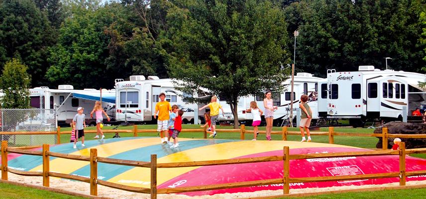 Western Village Rv Park A Clean And Quiet Pennsylvania